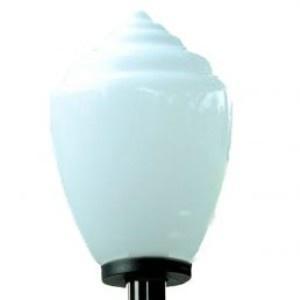 Lampy ogrodowe wys. 115 cm, klosz amfora
