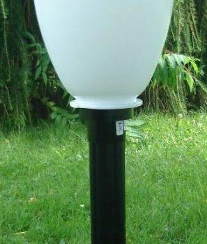 Lampy ogrodowe wys. 85 cm, klosz amfora 250 mm