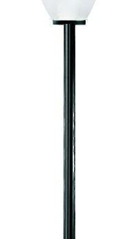 Lampy ogrodowe wys. 2 m, klosz amfora 250 mm