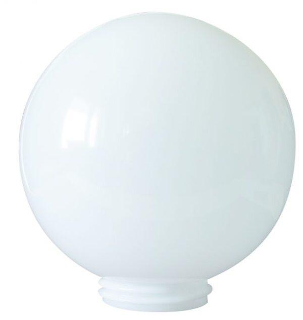 Klosze do lamp ogrodowych, białe 200 mm