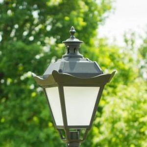 klosz stylowy lampa parkowa
