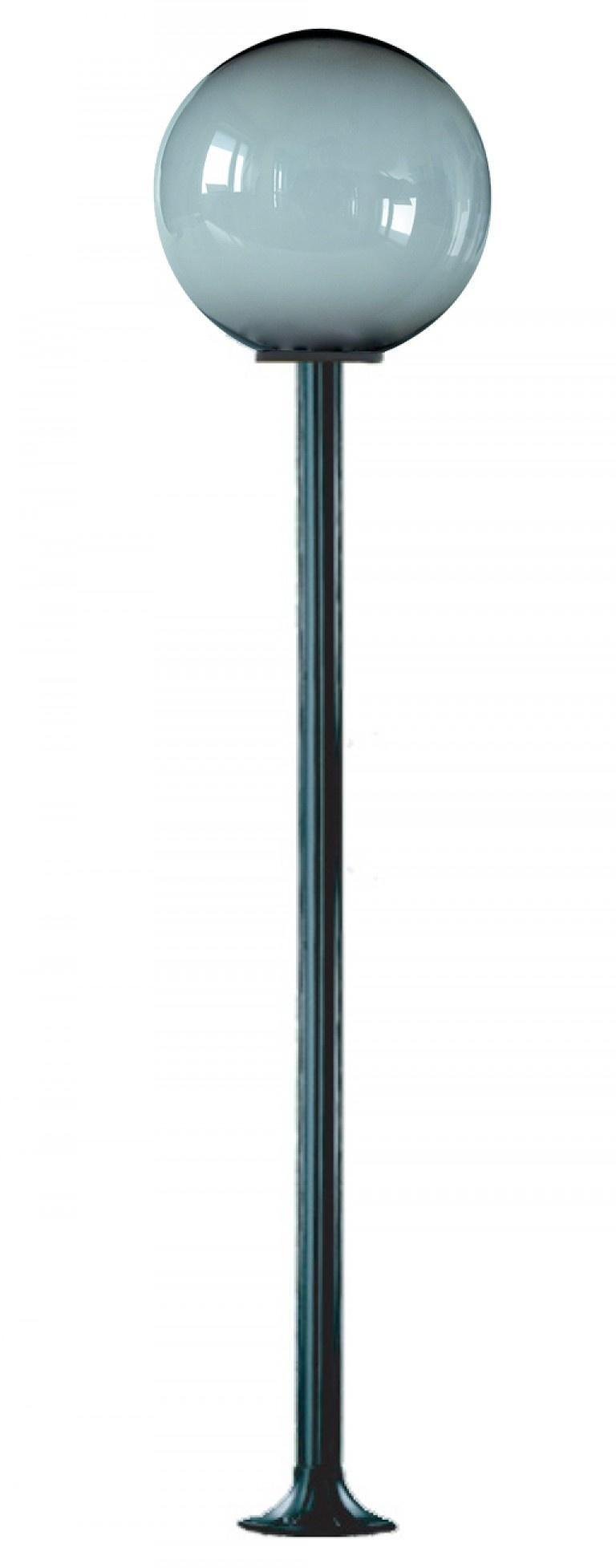 Lampy ogrodowe wys. 2.2 m, klosz podpalany 400 mm