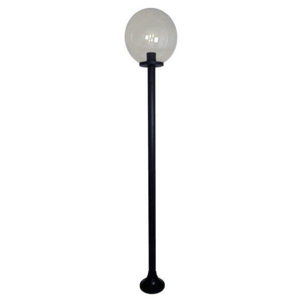 Lampy ogrodowe wys. 1.9 m, klosz podpalany 400 mm