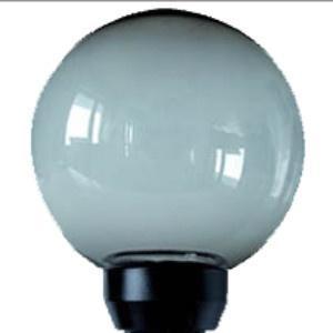 Lampy ogrodowe wys. 80 cm, kula podpalana 200 mm