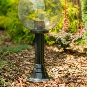 Lampy ogrodowe wys. 55 cm, kula podpalana 250 mm