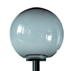 Lampy ogrodowe wys. 2 m, klosz podpalany 250 mm