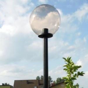 Lampy parkowe wys. 2.2 m, klosz podpalany 400 mm