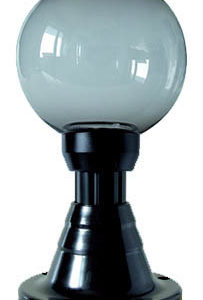 Lampy ogrodowe wys. 40 cm, kula podpalana 200 mm
