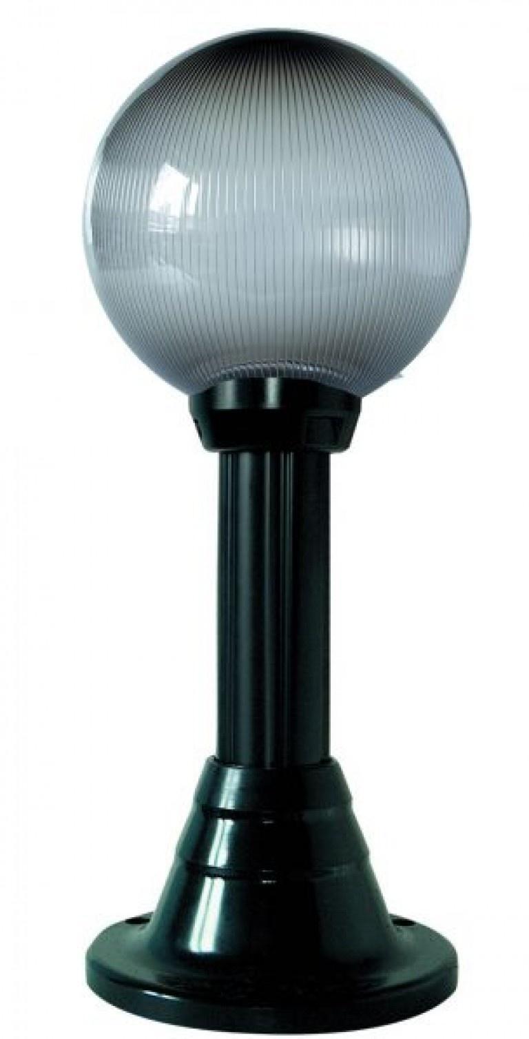 Lampy ogrodowe wys. 50 cm, kula pryzmatyczna 200 mm