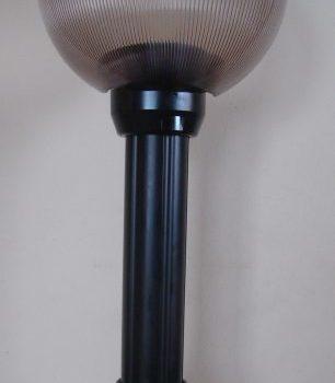 Lampy ogrodowe wys. 85 cm, klosz pryzmatyczny 250 mm