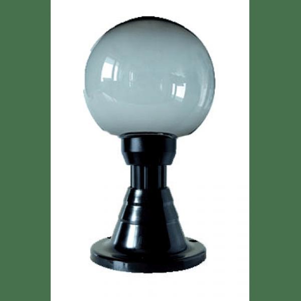 Lampy ogrodowe wys. 45 cm, kula podpalana 250 mm