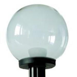 Lampy ogrodowe wys. 110 cm, kula przeźroczysta 200 mm