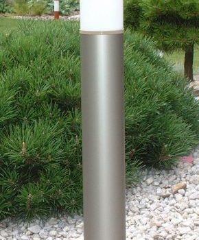 Lampy anodowane, kolor szampan, wys. 90 cm