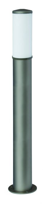 Lampy anodowane, kolor szary, wys. 90 cm