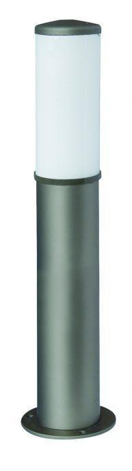 Lampy anodowane, kolor szary, wys. 70 cm