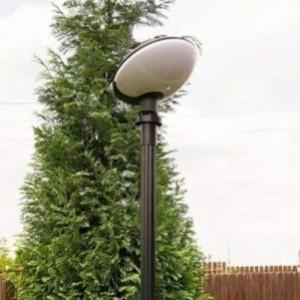 Lampy parkowe wys. 2.1 m, klosz TAO
